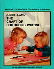 Cover of: The craft of children's writing | Judith Newman