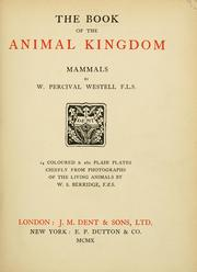 Cover of: book of the animal kingdom. | William Percival Westell