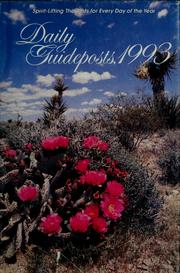 Cover of: Daily guideposts, 1993 |