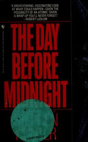 Cover of: The day before midnight | Stephen Hunter