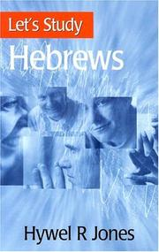 Cover of: Hebrews (Let