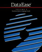 Cover of: DataEase | DataEase International.