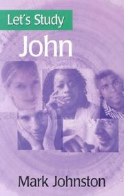Cover of: John (Let's Study)