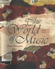 The world of music by David Willoughby