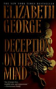 Cover of: Deception on his mind | Elizabeth George