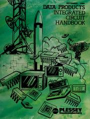 Cover of: Data products integrated circuit handbook | Plessey Semiconductors (Firm)