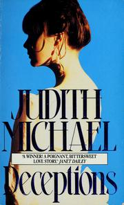 Cover of: Deceptions | Judith Michael