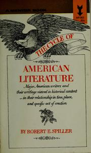 The cycle of American literature