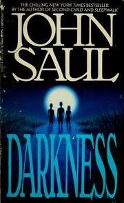 Cover of: Darkness | John Saul