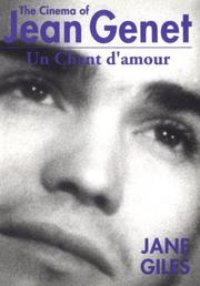 Cover of: The cinema of Jean Genet