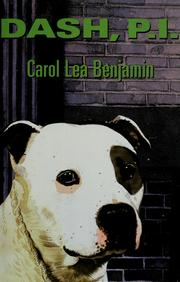 Cover of: Dash, P.I | Carol Lea Benjamin