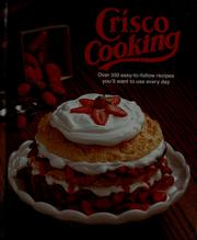 Cover of: Crisco cooking | Procter & Gamble Company.