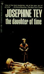Cover of: The Daughter of Time