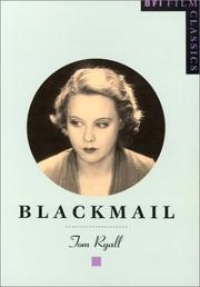 Cover of: Blackmail (Bfi Film Classics) | Tom Ryall