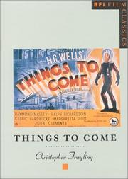 Cover of: Things to come | Christopher Frayling
