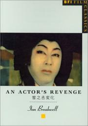 Cover of: An actor's revenge =