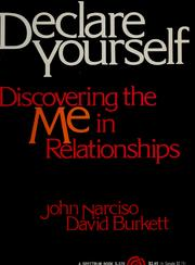 Cover of: Declare yourself | John Narciso
