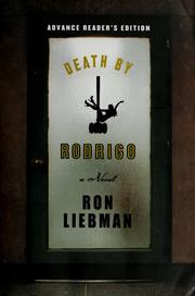Cover of: Death by Rodrigo | Ronald S. Liebman