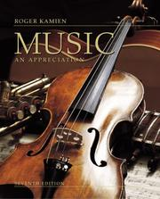 Cover of: Music | Roger Kamien