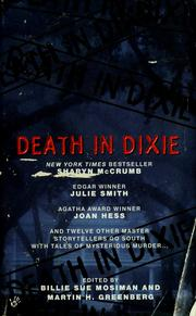 Cover of: Death in Dixie | Billie Sue Mosiman, Martin H. Greenberg