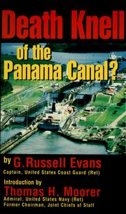 Cover of: Death knell of the Panama Canal? | G. Russell Evans