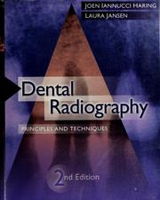 Cover of: Dental radiography | Joen Iannucci Haring