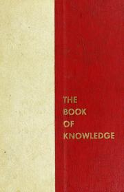 Cover of: The book of knowledge by Grolier Society.