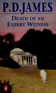 Death of an expert witness by P. D. James
