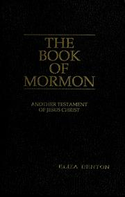 Cover of: The Book of Mormon |