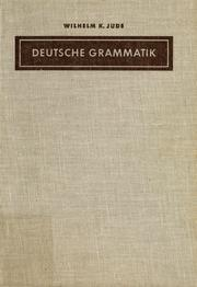 Cover of: Deutsche Grammatik |