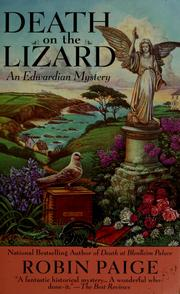 Cover of: Death on the lizard | Robin Paige