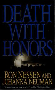 Cover of: Death with honors | Ron Nessen