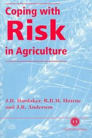 Cover of: Coping with risk in agriculture