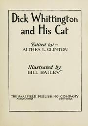 Cover of: Dick Whittington and his cat |