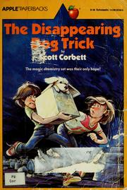 Cover of: The disappearing dog trick | Scott Corbett