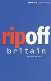 "Cover of: Rip Off Britain (""Which?"" Consumer Guides)"