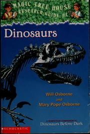 Cover of: Dinosaurs by Will Osborne
