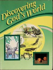 Discovering God's world by Judy Hull