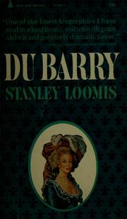 Cover of: Du Barry | Stanley Loomis
