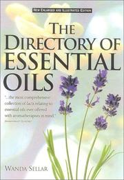 Cover of: The Directory of Essential Oils, Revised | Wanda Sellar