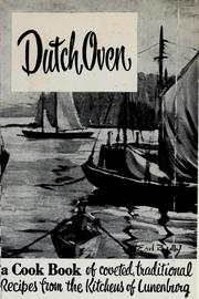 Cover of: Dutch oven | Lunenburg Hospital Society. Ladies Auxiliary.