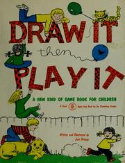 Cover of: Draw it, then play it | Juel Krisvoy