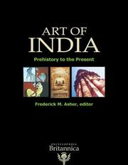 Cover of: Art of India | Frederick M. Asher