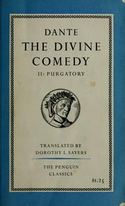 Cover of: The Divine comedy. by Dante Alighieri