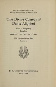 Cover of: The Divine Comedy of Dante Alighieri: Hell, Purgatory, Paradise