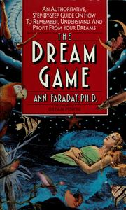 Cover of: The dream game | Ann Faraday