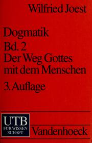 Cover of: Dogmatik | Wilfried Joest