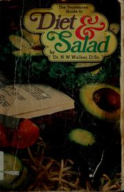 Cover of: Diet and salad suggestions | Norman Wardhaugh Walker