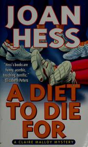 Cover of: A diet to die for | Joan Hess