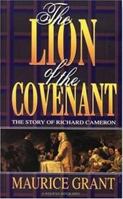 Cover of: Lion of the Covenant | Mauric Grant